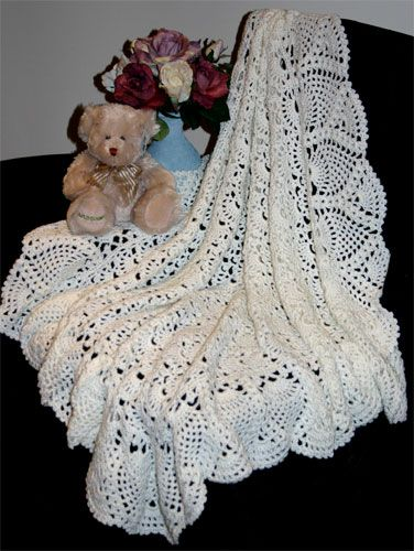 Baby Shawl Crochet Patterns Free CROCHETED BABY SHAWLS ...