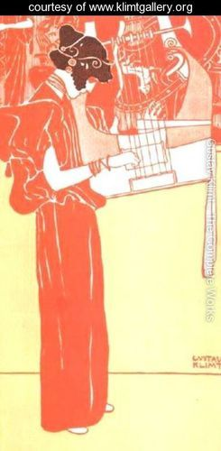 Music 1901 - Gustav Klimt - www.klimtgallery.org