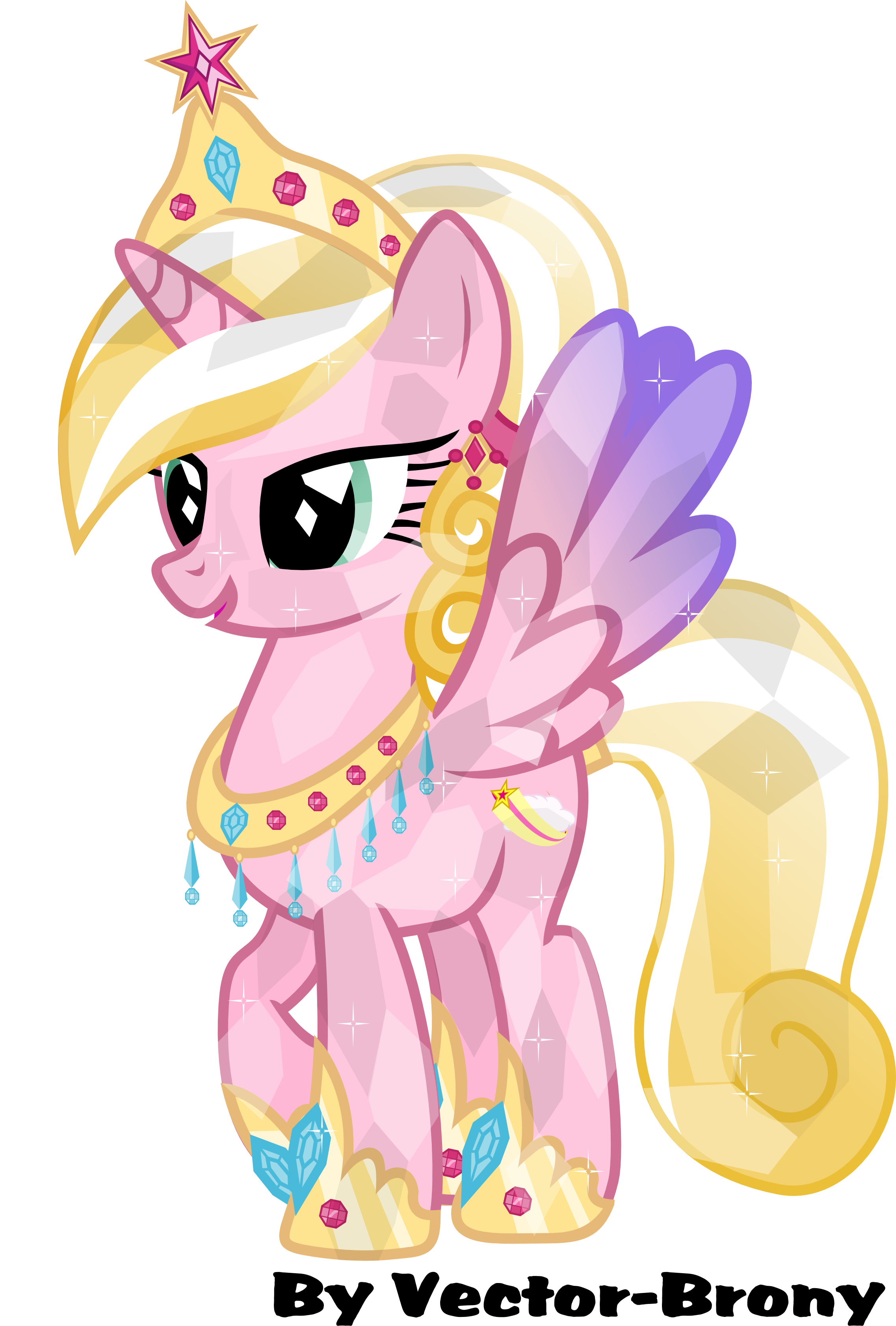 Princess starwish by vector - Princesse poney ...