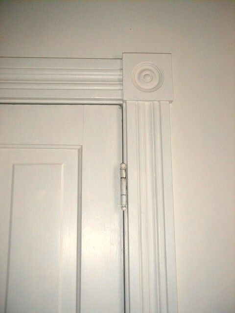 how to build a door casing