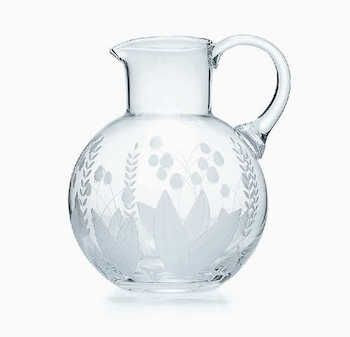 Tiffany's Lily of the Valley pitcher makes the perfect wedding gift | b-brighter.com