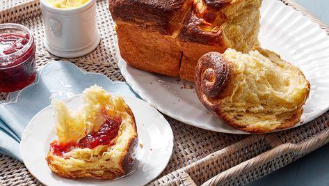 Flaky Brioche | Recipe | Baking, Brioche, Martha stewart ...