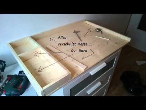Youtube Ikea Diy Ikea Hemnes Changing Table Baby Room Diy