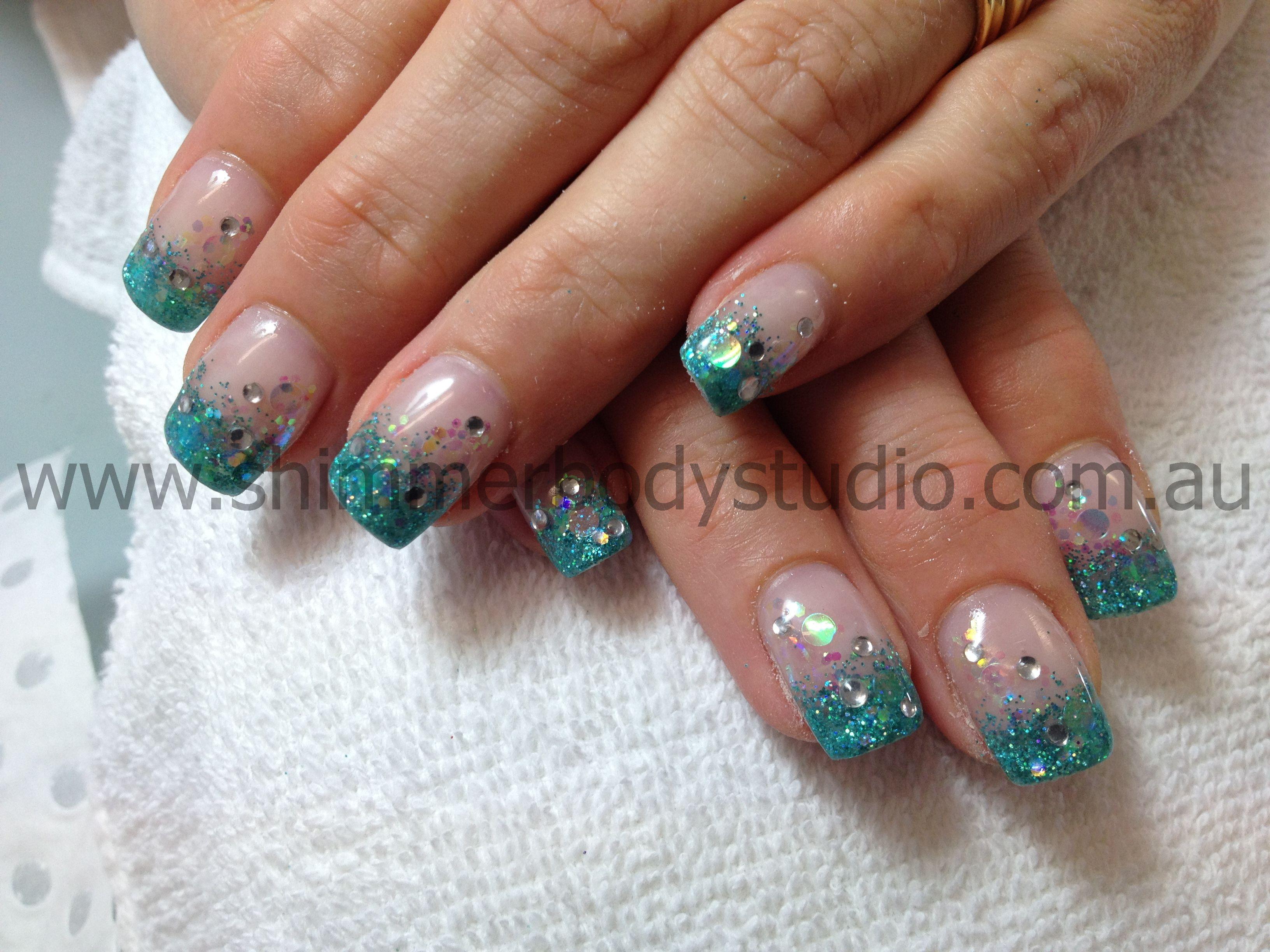 Gel nails colour nails glitter nails glitter french crystals gel nails colour nails glitter nails glitter french crystals nail art prinsesfo Gallery
