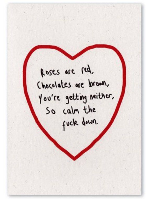 Anti-Valentine's Day Cards For Hilarious People