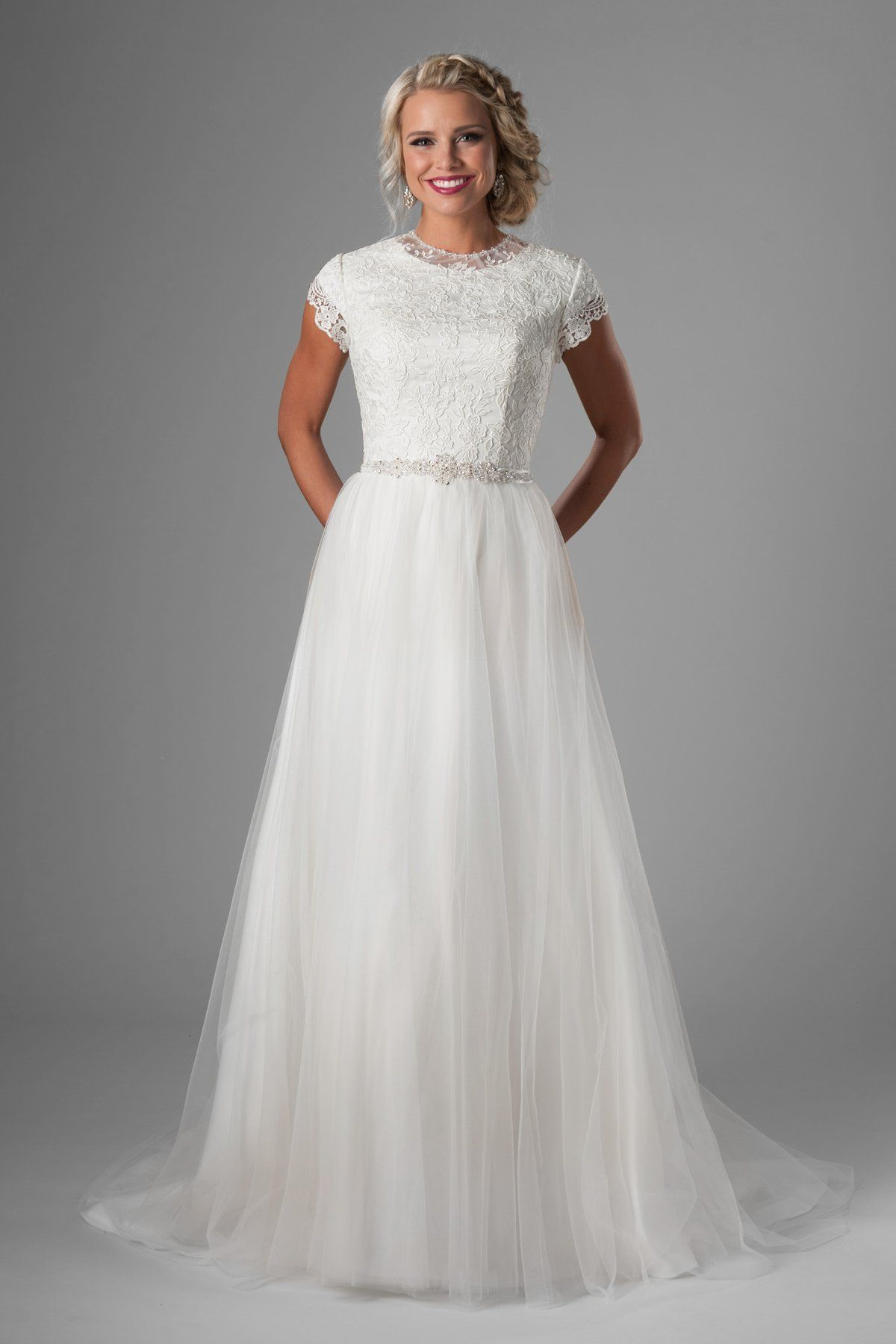 Pennalynn Modest wedding dresses, Wedding dresses simple