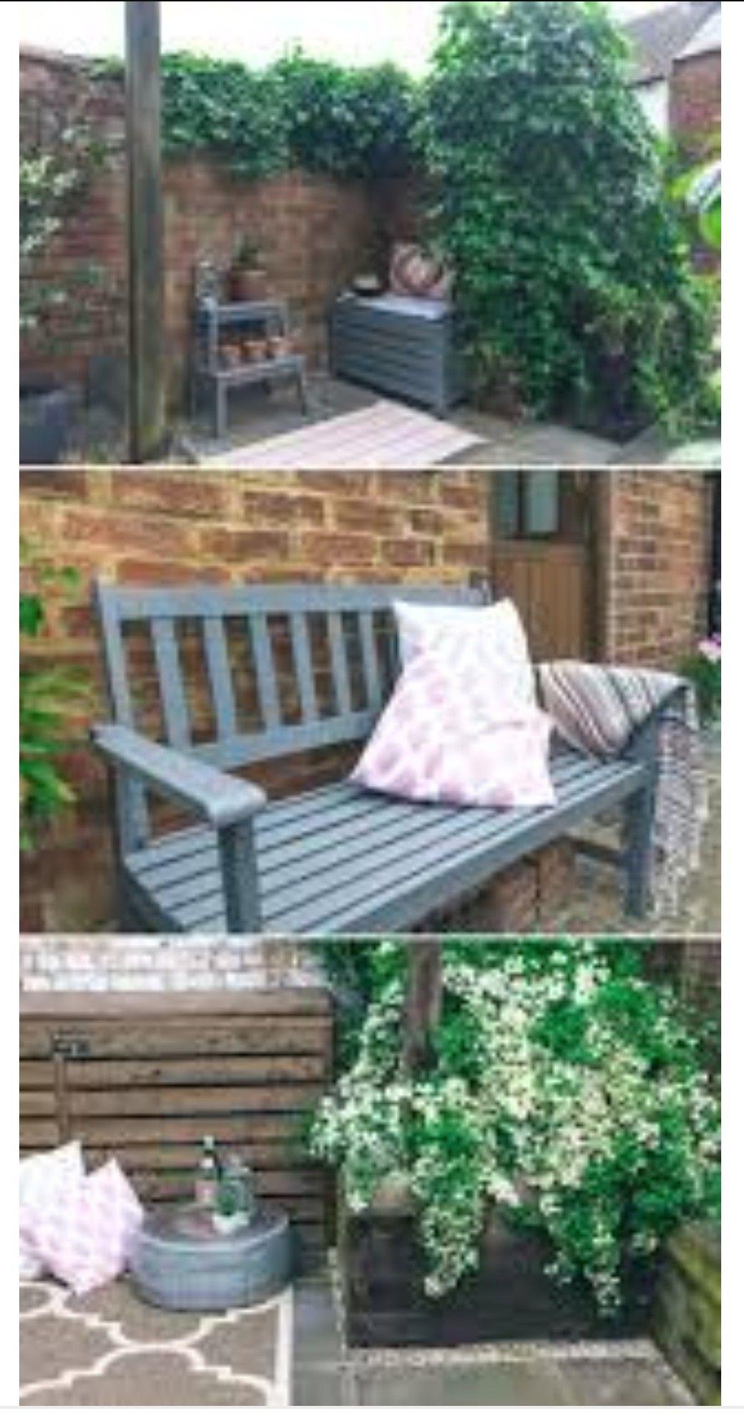 Pin By Linda Steyn On Braai Painted Garden Furniture Rustic