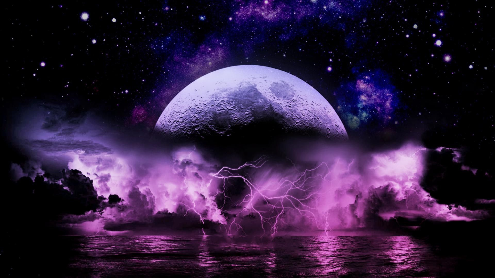 purple lightning storm wallpaper ololoshenka pinterest purple