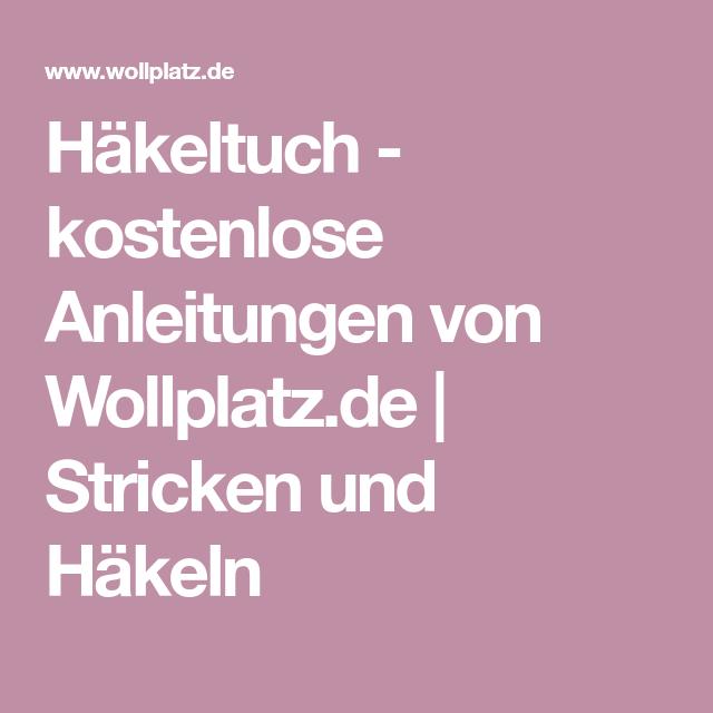 Häkeltuch - Kostenlose Anleitung aus Stylecraft Special DK