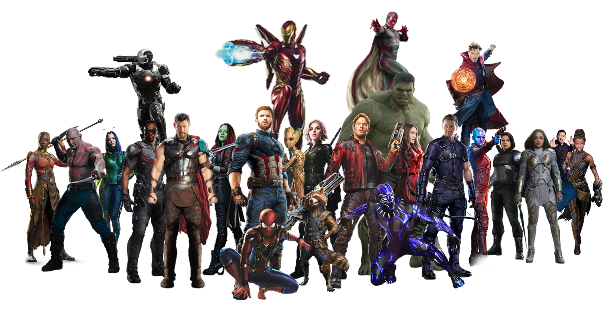 Captain Infinity Youtube Hulk Groot Thanos America