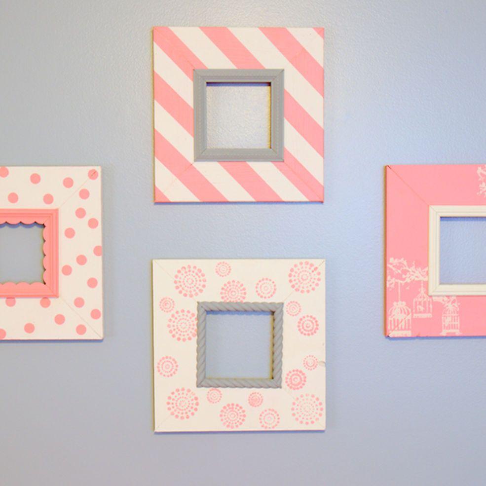 DIY Nursery Frames