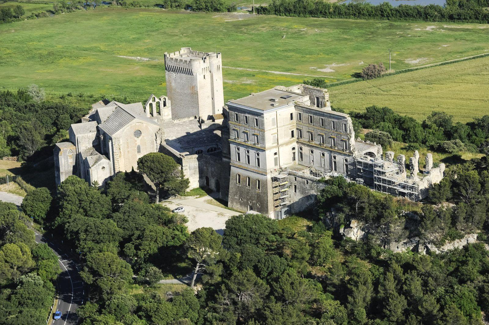 L Abbaye De Montmajour Entre Arles Et Fontvieille Abbaye Patrimoine Mondial Monuments