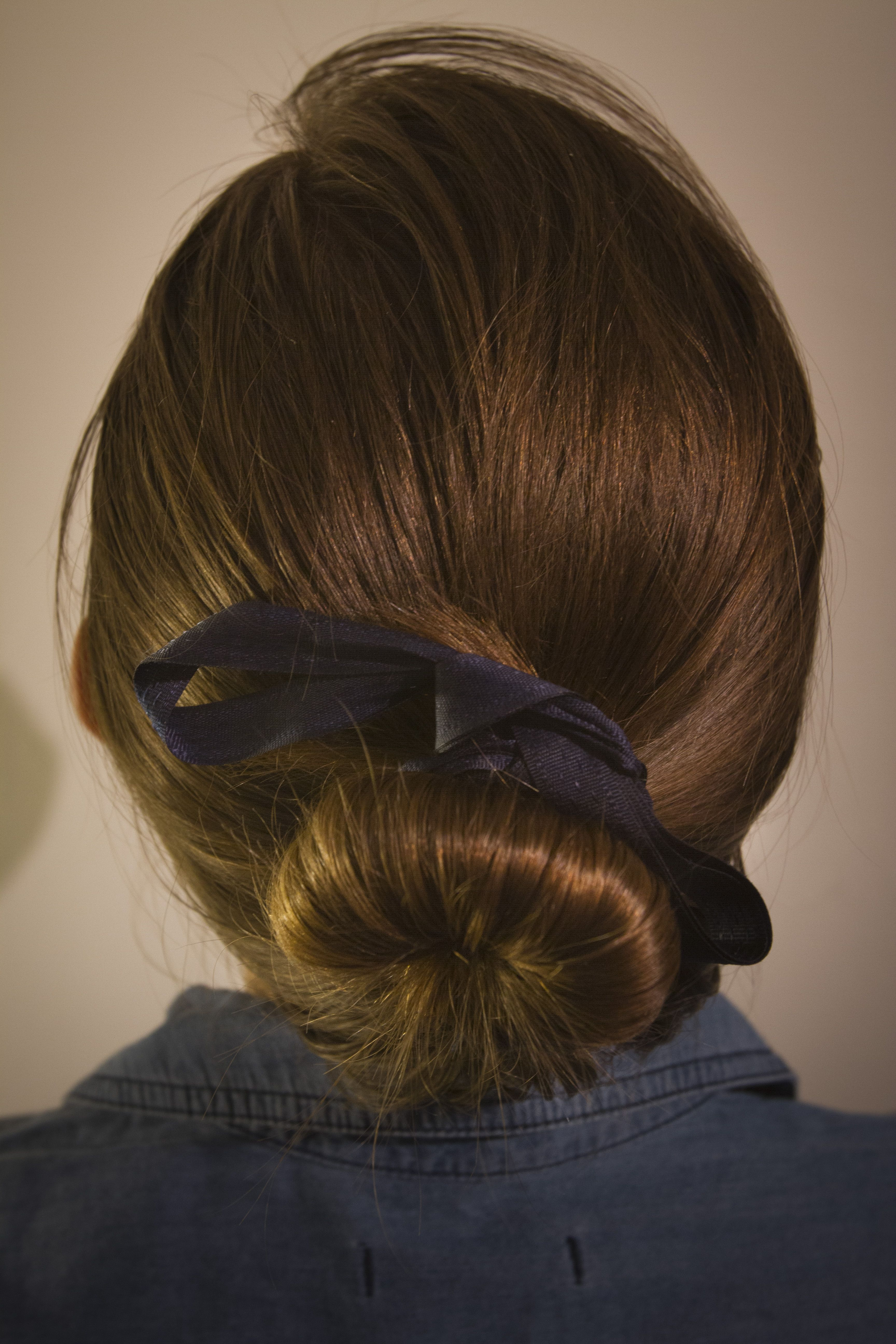 Accessorize your hairstyle with a simple chic ribbon beauty uc