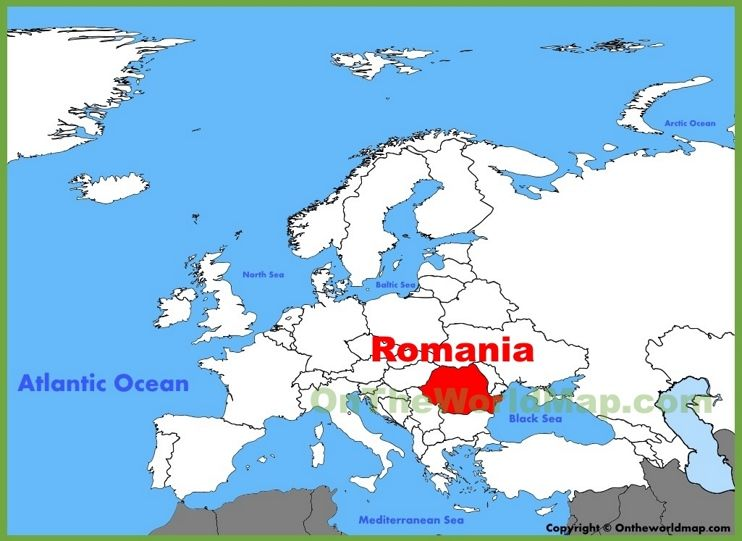 romania location in europe map Romania location on the Europe map   Europe map, Finland location