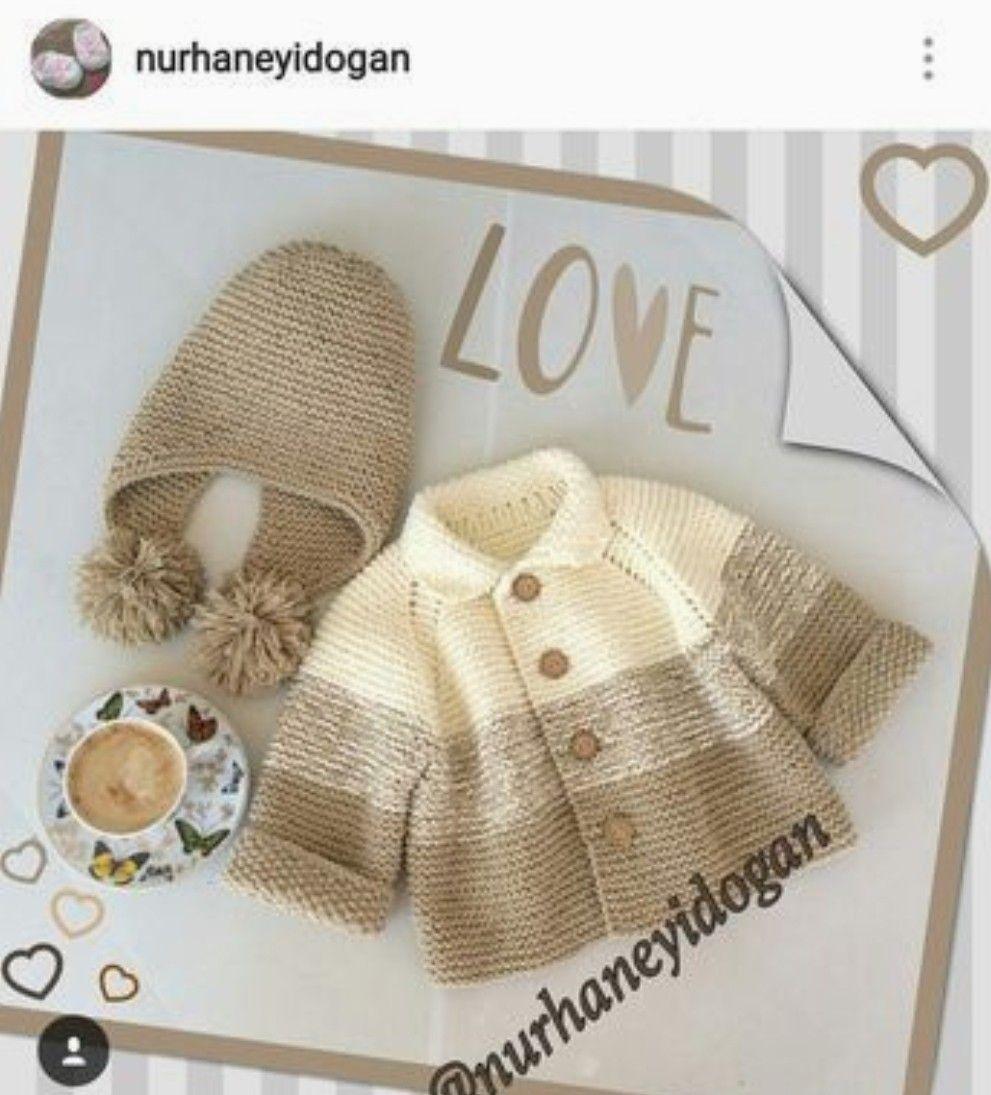 Chambrita bebé | Chambritas y suéteres para bebé | Pinterest ...