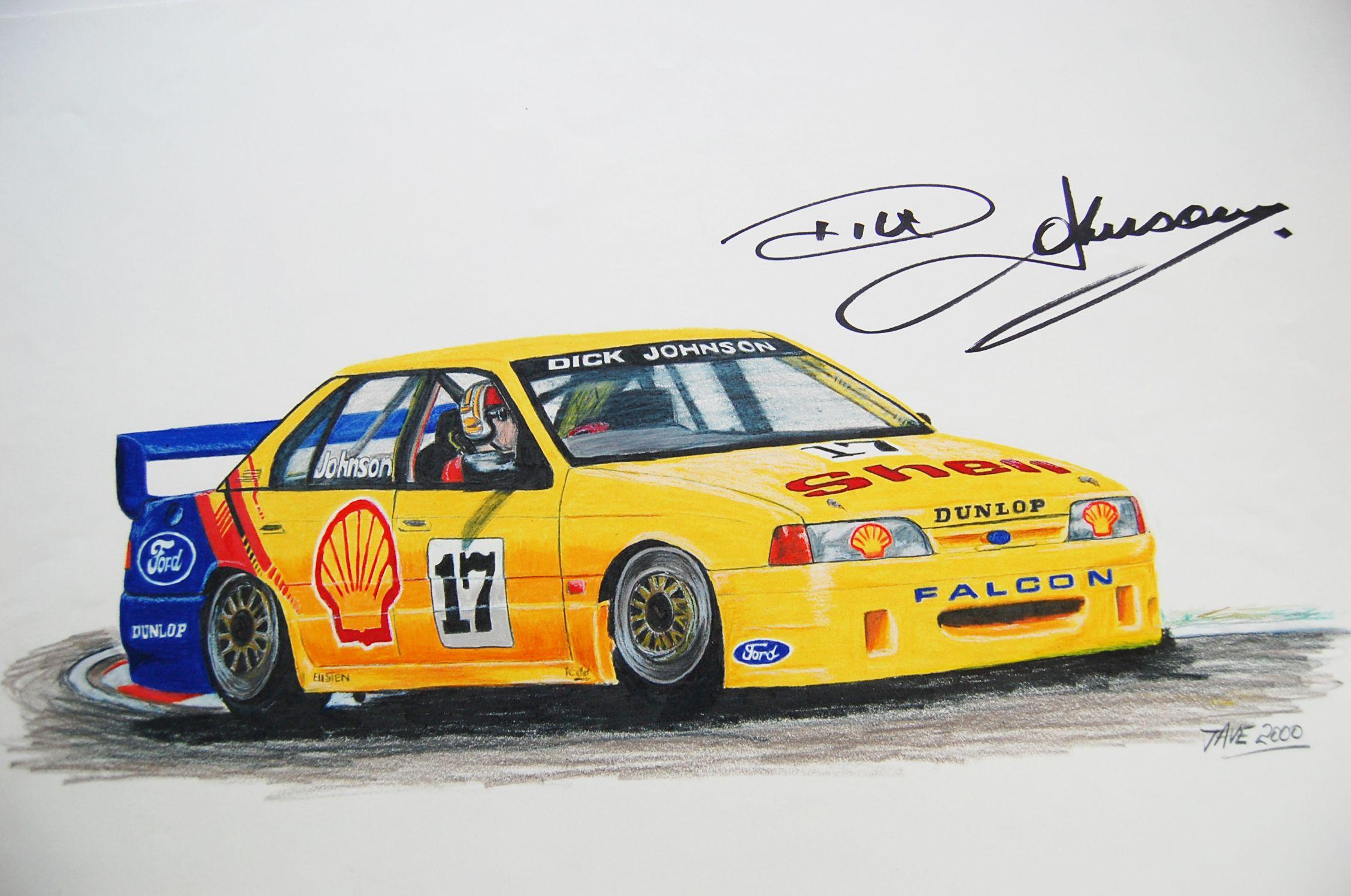 2001 Ford Falcon V8 Supercar: V8 Supercars