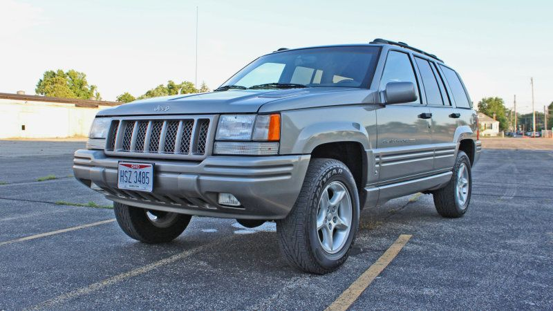 1998 Jeep Grand Cherokee 5 9 Limited With 42 000 Miles For Auction