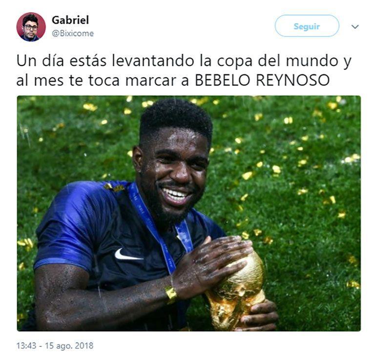 Los Memes Mas Divertidos Del Triunfo De Barcelona Sobre Boca Los Mejores Memes De Futbol Espana Argentina Real Madrid Memes De Futbol Gifs De Futbol Futbol