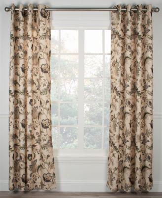 Ellis Curtain Brissac Panel and Valance Collection   macys.com ...