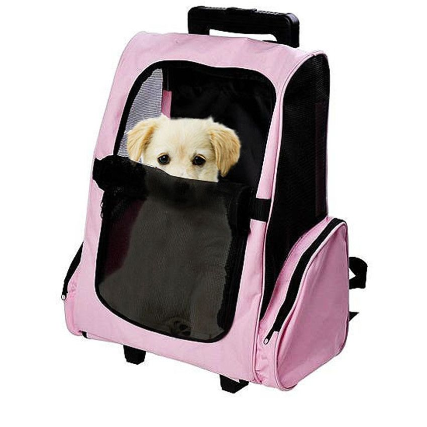 Pet Carrier Dog Backpack Travel Bags Car Seat For Medium Pets ...