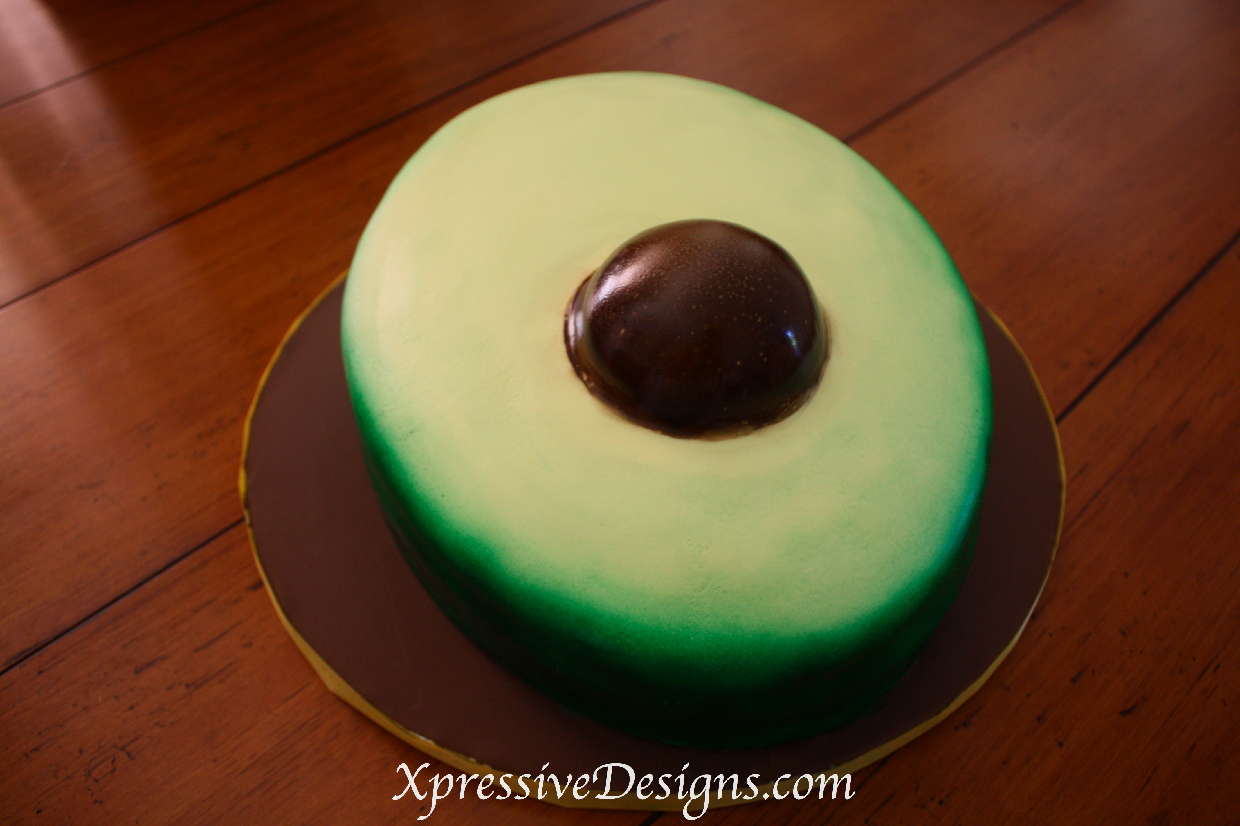 Incredible Avocado Shaped Cake With Images Cake Let Them Eat Cake Funny Birthday Cards Online Hendilapandamsfinfo