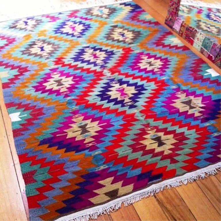 Image Of Aztec Design Area Rugs