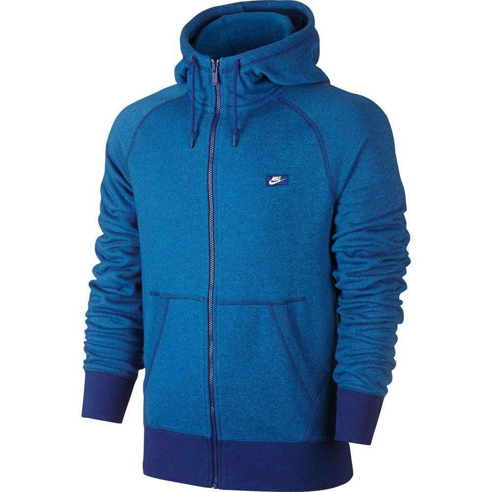 aa8fc50efe1 Nike Tech Fleece Knit AW77 Full-Zip Men s Hoodie Royal Blue Heather  727395-455  fashion  clothing  shoes  accessories  mensclothing  activewear  (ebay link)