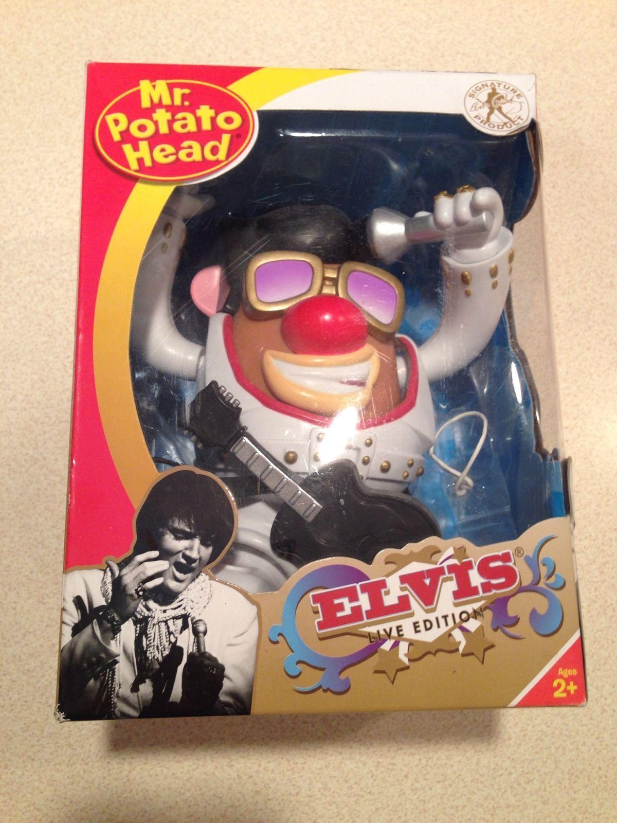 NEW Elvis Presley THE KING Mr. Potato Head Doll Toy picclick.com