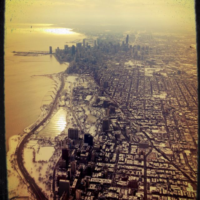 Chicago by plane