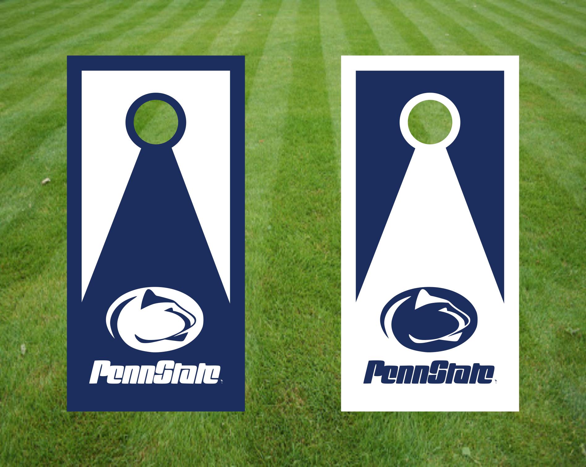 Penn State Logo Corn Hole Board Decals Easy Install Guarantee Set Ebay Cornhole Board Decals Cornhole Decals Cornhole Boards [ 1511 x 1896 Pixel ]