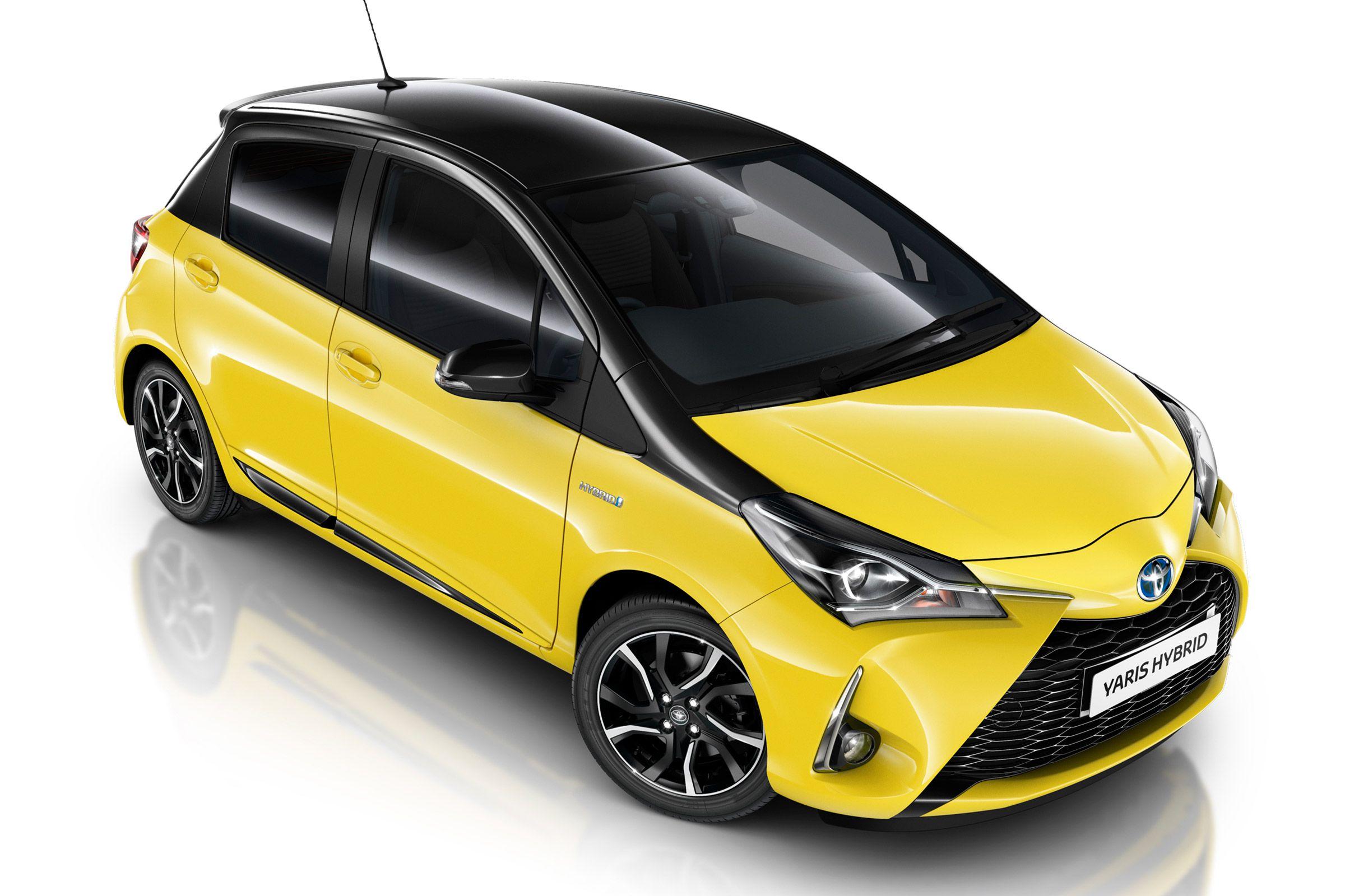 Toyota Yaris Yellow Edition Brightens Up New Yaris Range Auto