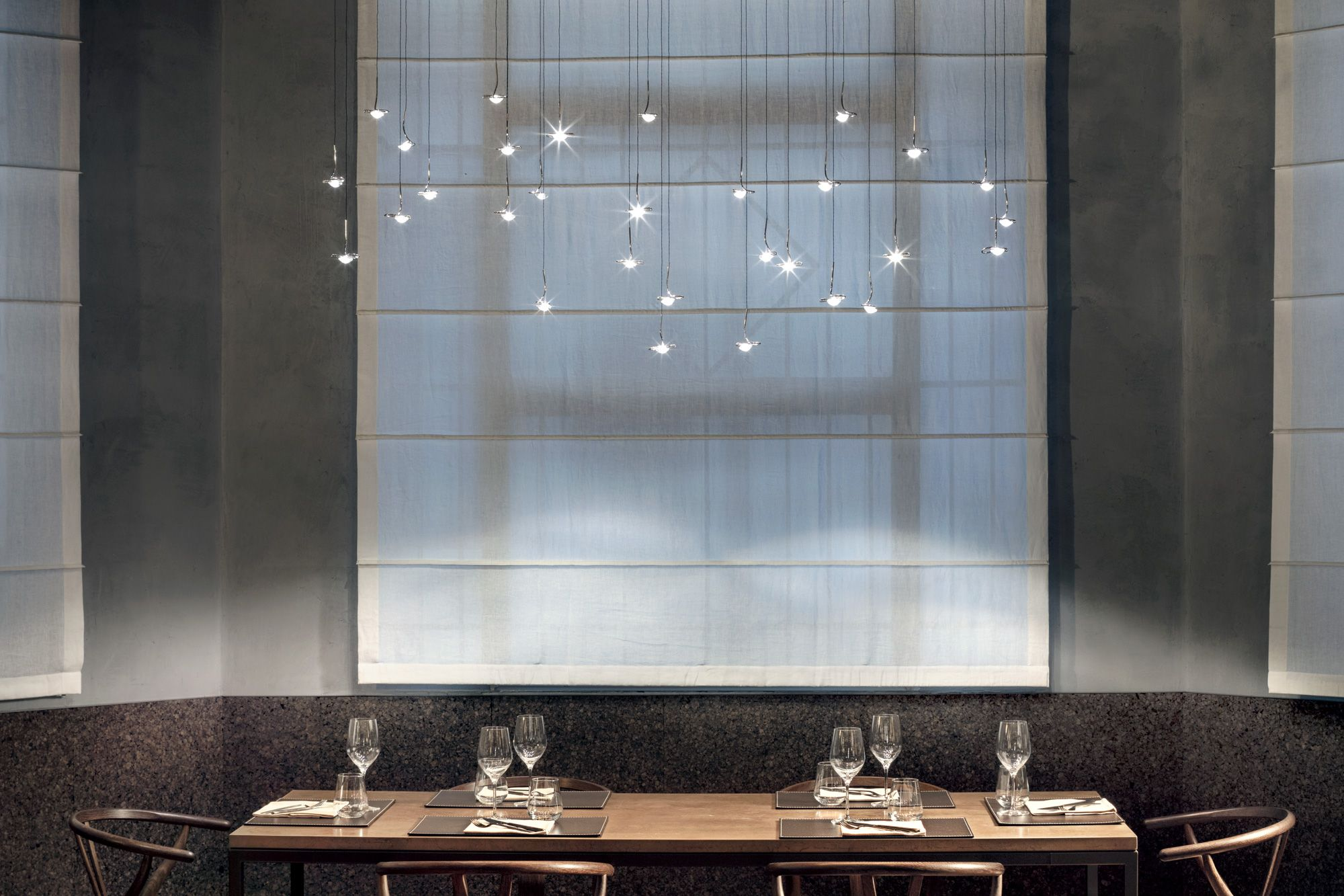 Cenerè restaurant in 2019 interior retail bathroom lighting