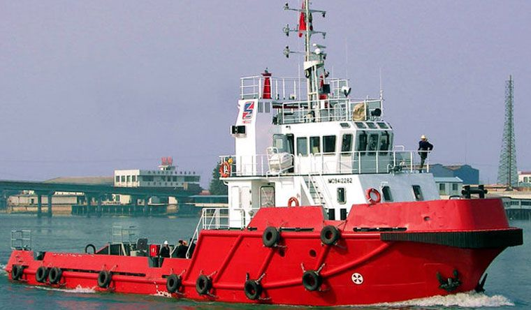 Ocean going tug boat ready to hit the waves.   Tug boats ...