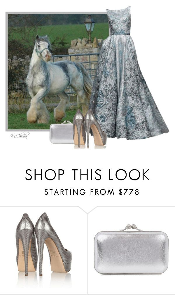 """""""Bez tytułu #3050"""" by malgo1958 ❤ liked on Polyvore featuring Brian Atwood and Alexander McQueen"""