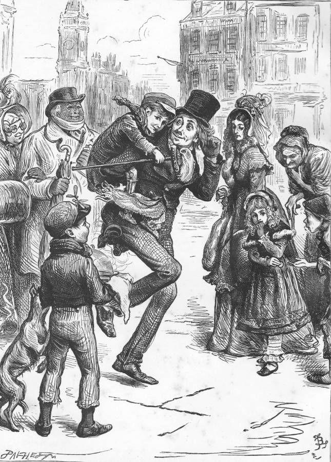 Who Wrote A Christmas Carol.Original Christmas Carol Illustrations Google Search