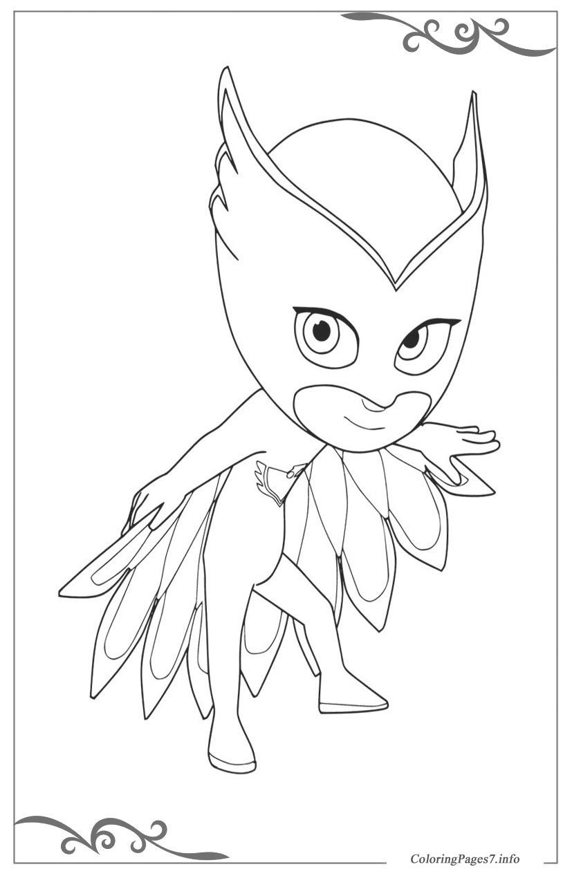 PJ Masks Printable Coloring Pages for Kids | Coloriage ...