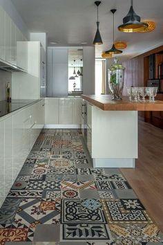 Rinnovare il pavimento di casa? Ecco le Cementine | Cucina | Design ...