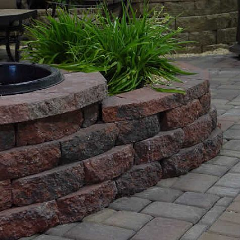 block wall everloc retaining walls home decoration improvement - Retaining Wall Blocks Design