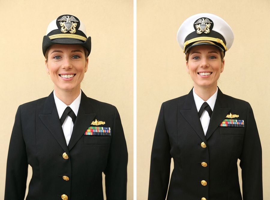 Proposed Navy Women S Dress Uniforms To Resemble Male Version Navy Dress Uniforms Us Navy Women Us Navy Uniforms