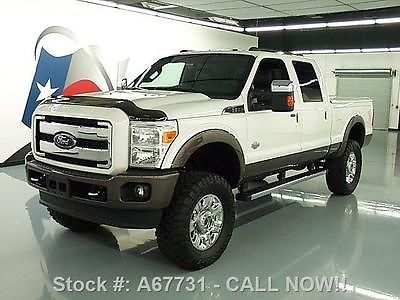 2015 Ford F250 King Ranch Crew 4x4 Diesel Lifted Nav 6k A67731 Texas Direct Certified Pre Owned Ford F 250 For Sale In Stafford Ford F250 F250 Ford Trucks