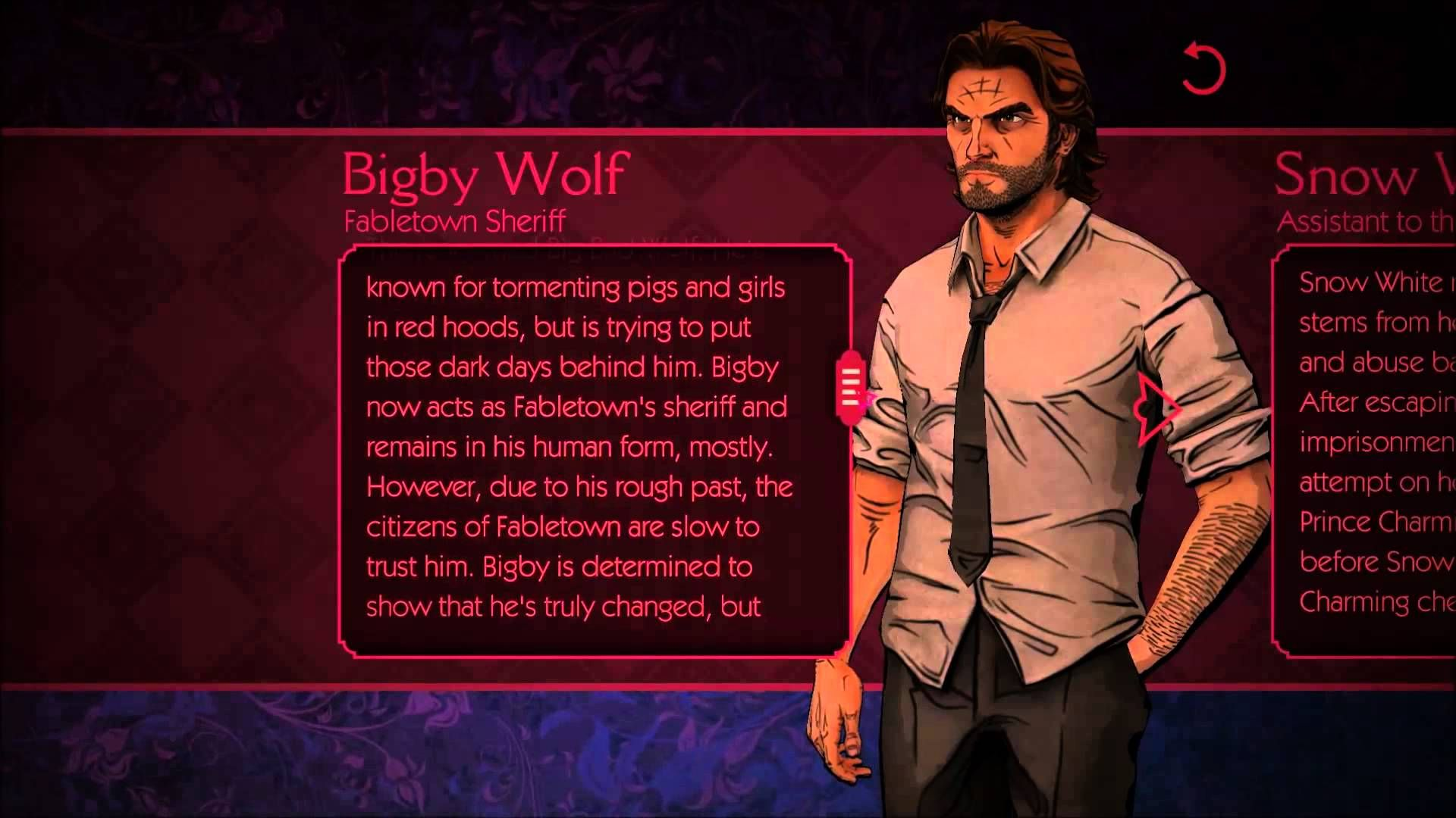 The Wolf Among Us Book Of Fables Bigby Wolf The Wolf Among Us Fables Wolf
