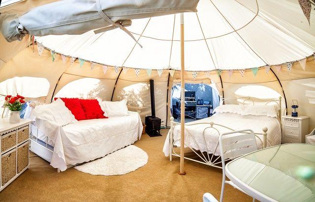Lotus Belle Luxury Camping Tents Luks Ilham Ve Lotus