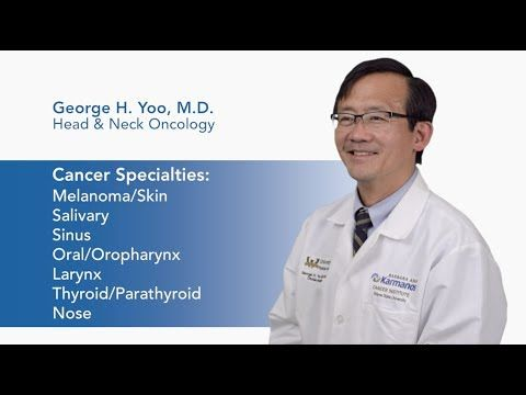 george yoo md facs chief medical officer physician in chief