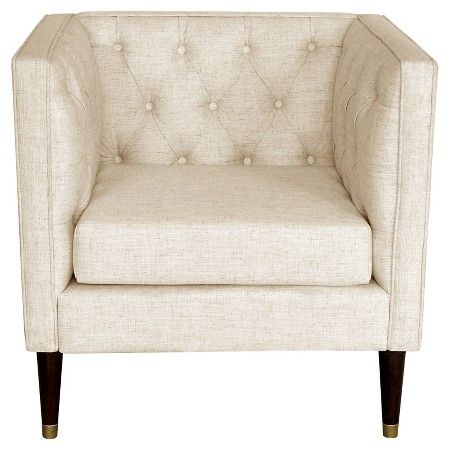 Tufted Arm Chair 250 Blush Nate Berkus Target