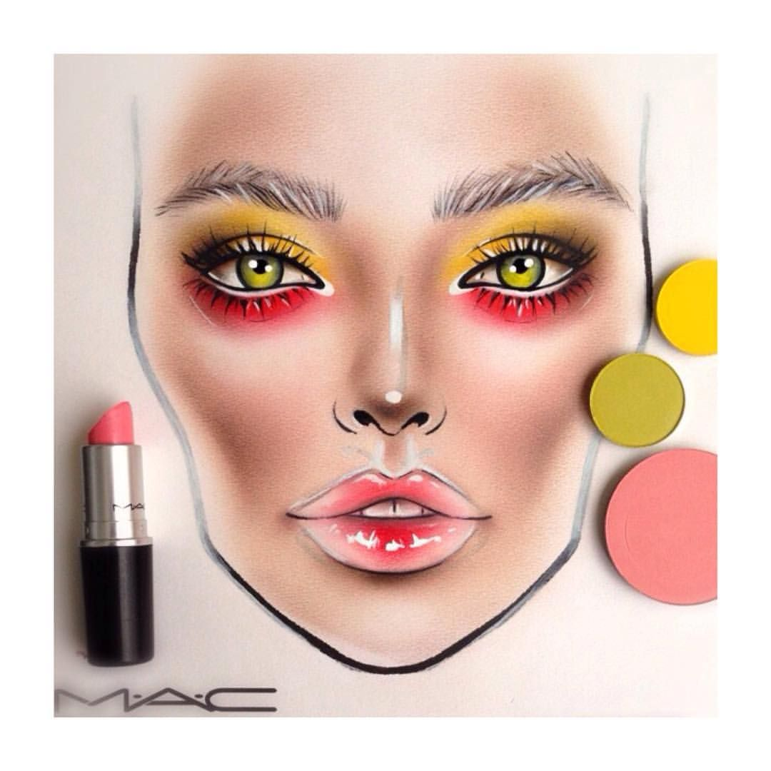 makeup artist cover letters%0A Face chart