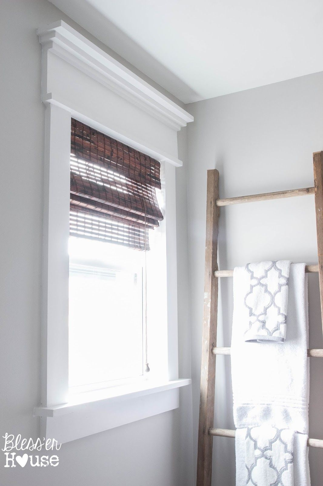 Simple interior window trim ideas - 2 Simple Steps To Upgrade A Basic Window