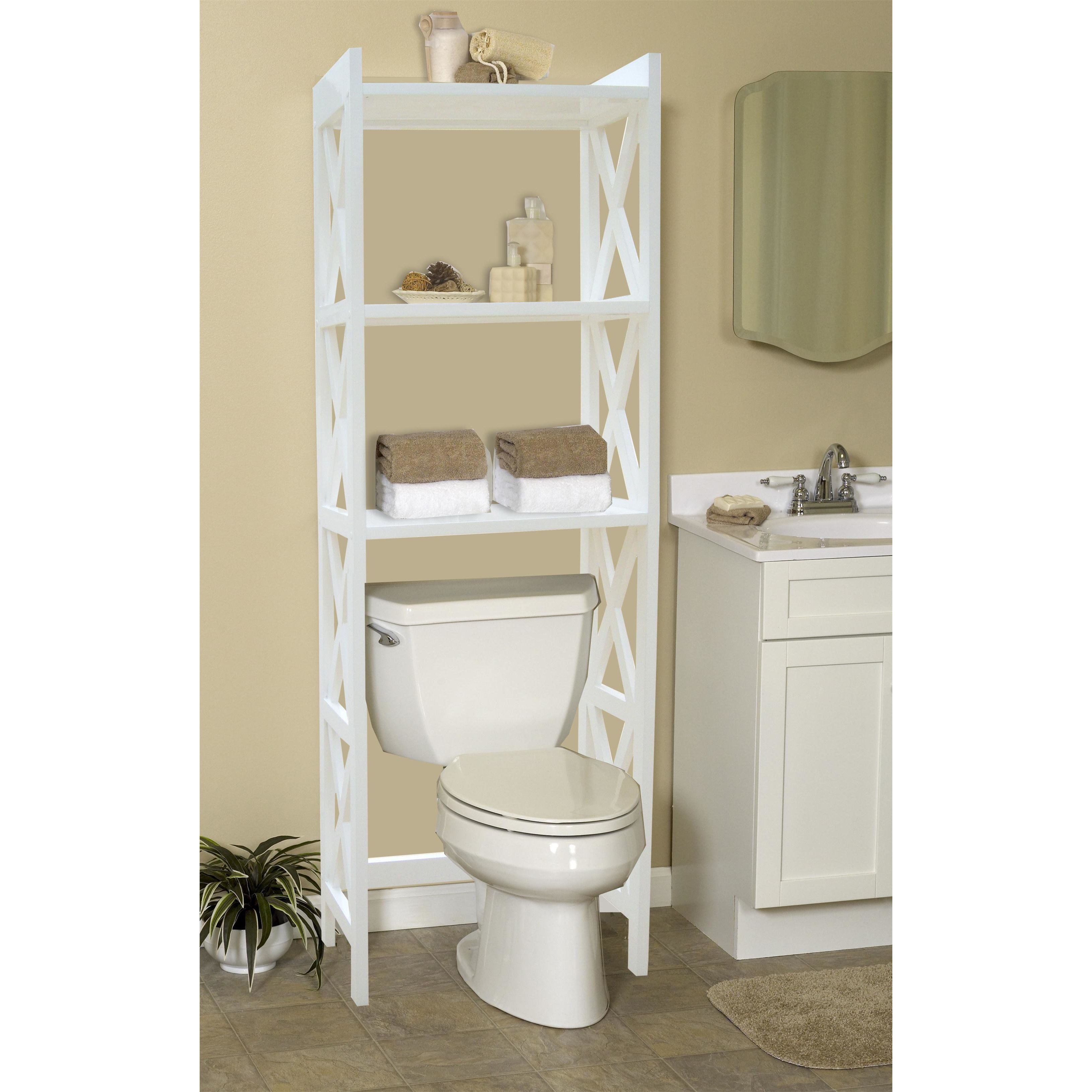 Bathroom Space Saver 24 5 Quot W X 62 Quot H Over The Toilet