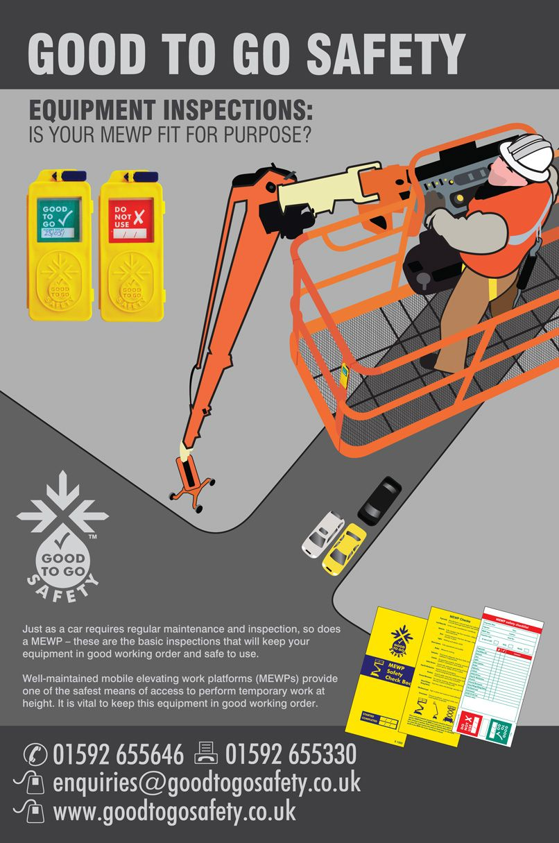 MEWP Safety advice for Work at Height Health and safety