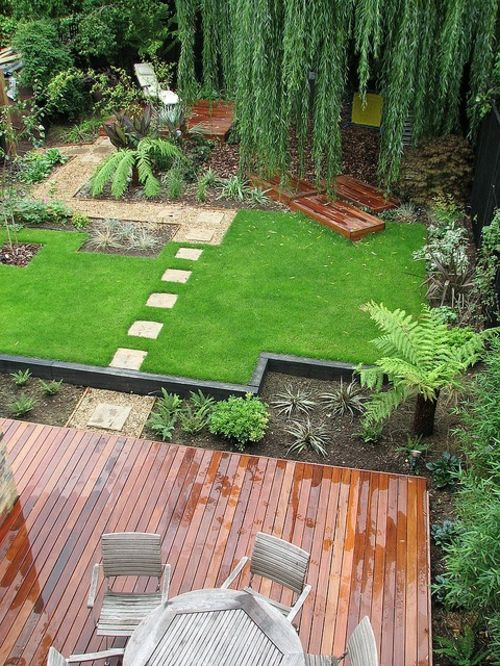 bilder zur vorgartengestaltung idee steine kiesel blumen pflanzen - gartengestaltung mit steinen und blumen