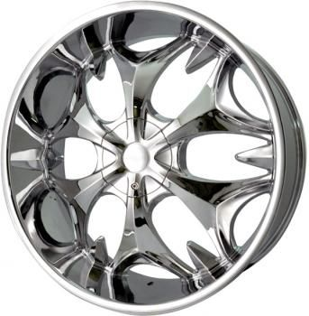 Elure Wheels 010 22 Inch 22x8 0 Chrome Rims Wheel Chrome Rims